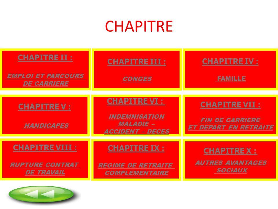 CHAPITRE CHAPITRE II : CHAPITRE III : CHAPITRE IV : CHAPITRE V :