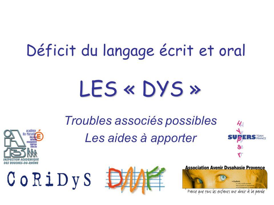 Déficit du langage écrit et oral