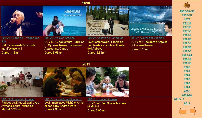 2010 1956-57-58. 1958-59. 1973. 1976A. 1976B. 1976C. 1987A. 1987B. 1988A. 1988B. 1988C. 1988-89.