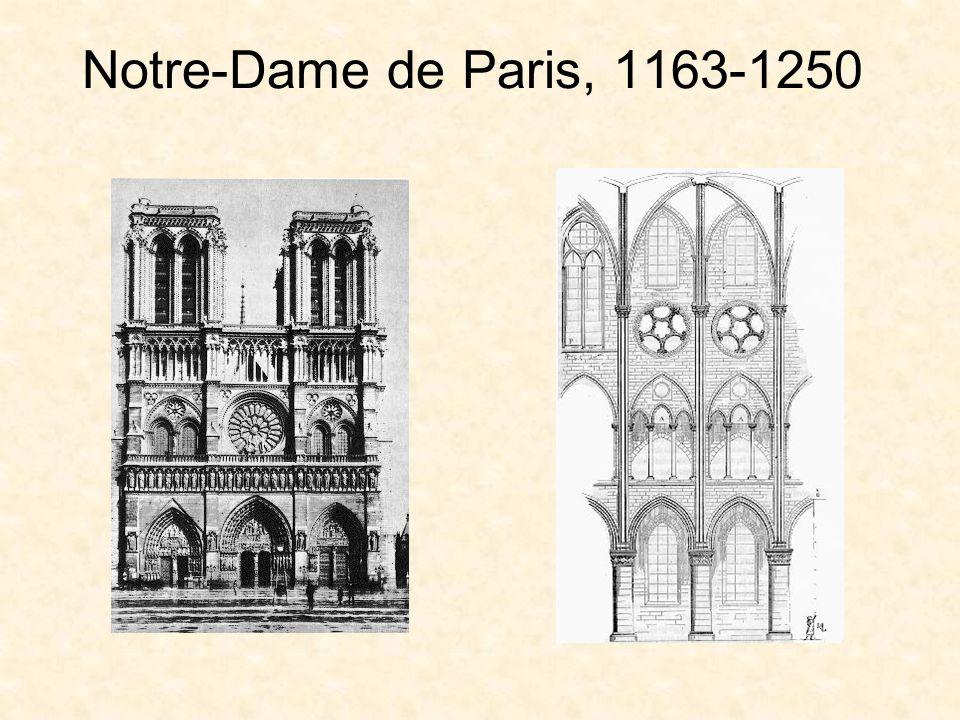 Notre-Dame de Paris, 1163-1250