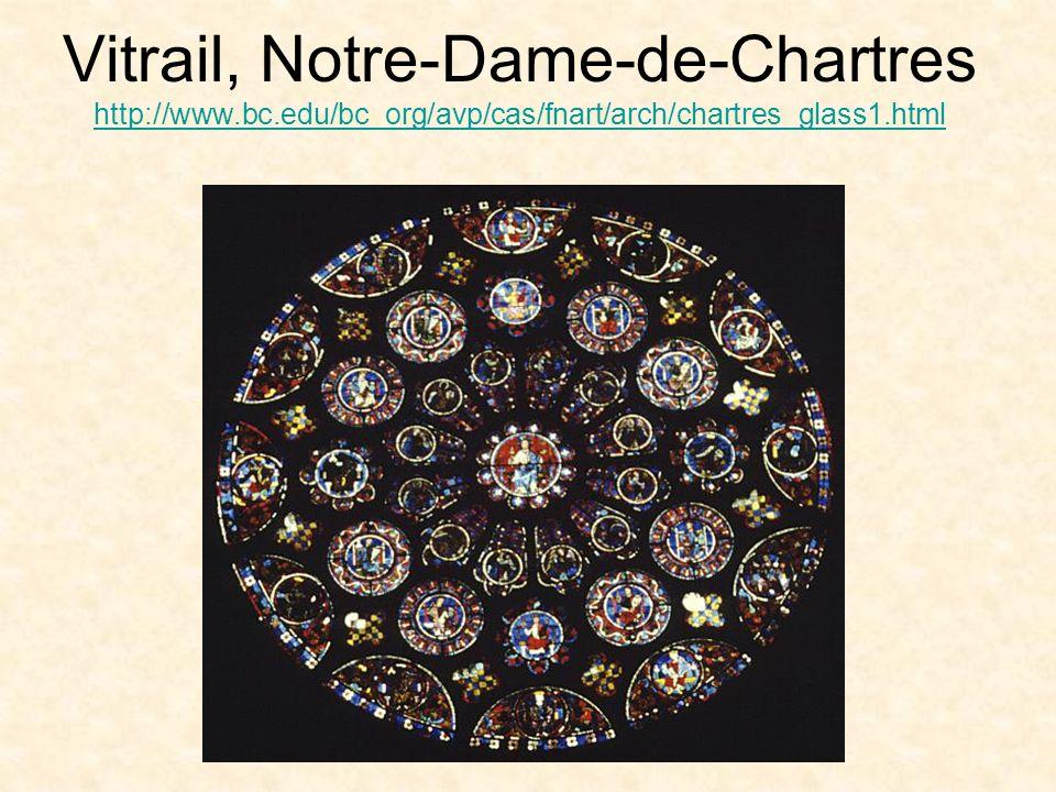 Vitrail, Notre-Dame-de-Chartres http://www. bc