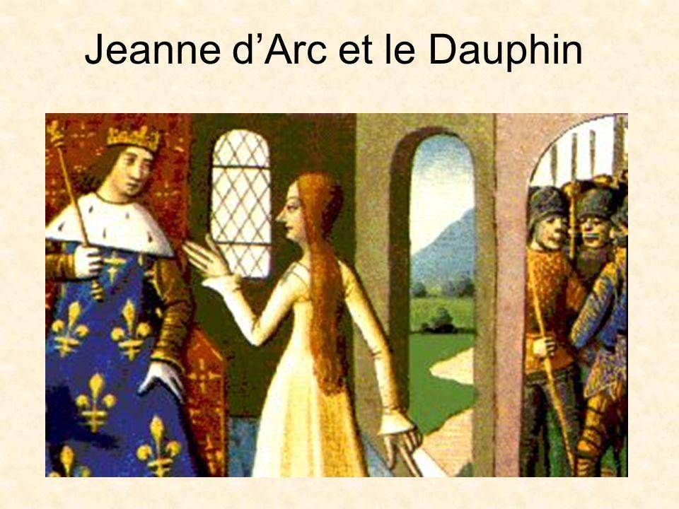Jeanne d'Arc et le Dauphin