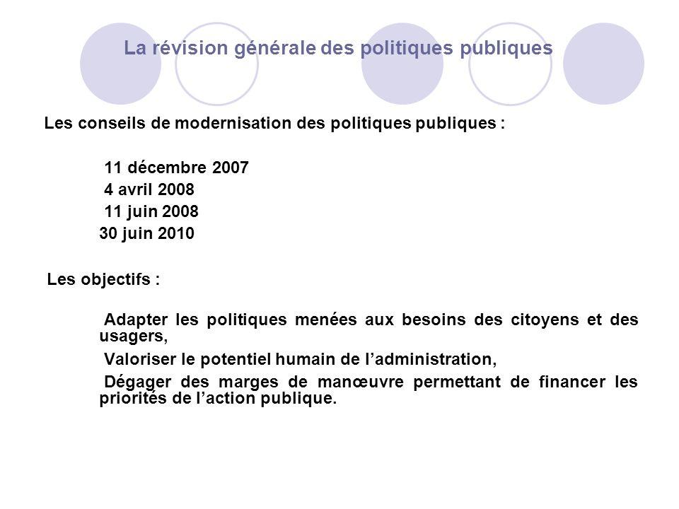 La révision générale des politiques publiques