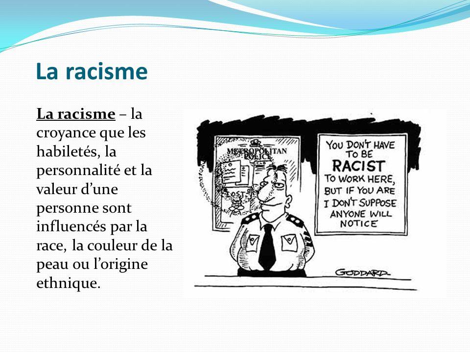 La racisme