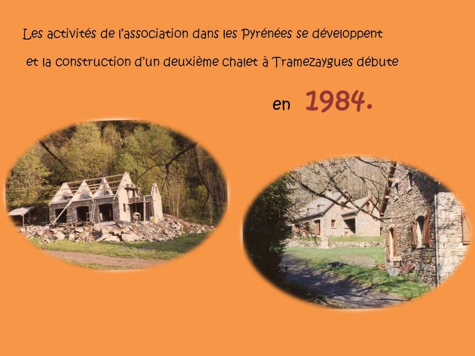 Les activités de l'association dans les Pyrénées se développent