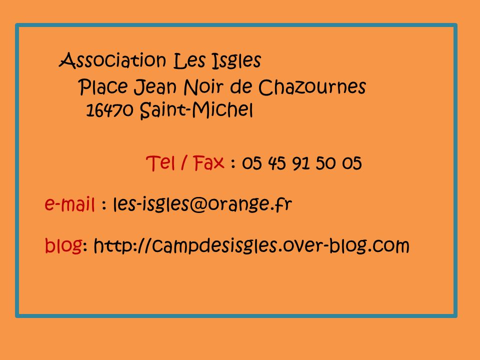 Association Les Isgles
