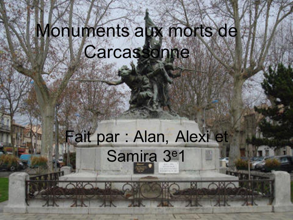 Monuments aux morts de Carcassonne