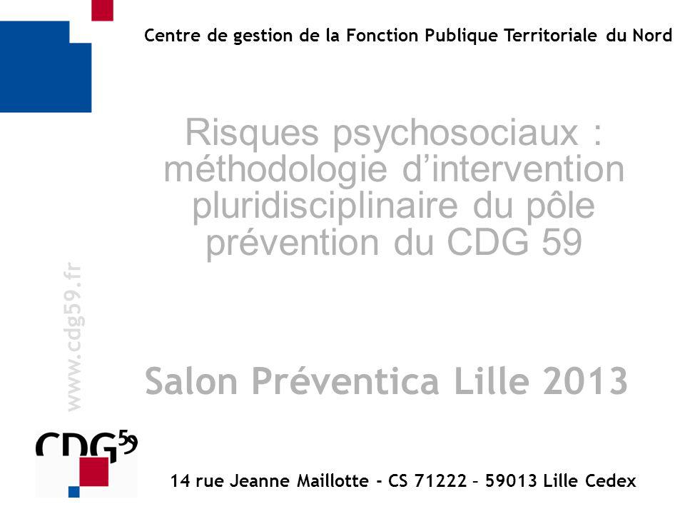 14 rue Jeanne Maillotte - CS 71222 – 59013 Lille Cedex