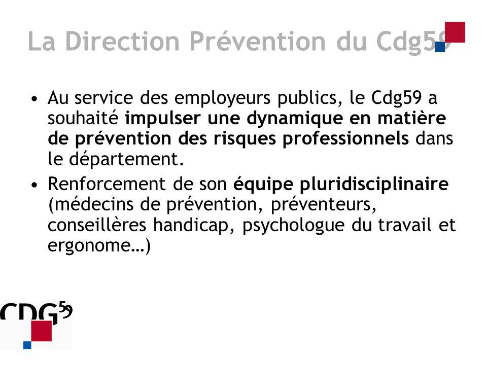 La Direction Prévention du Cdg59