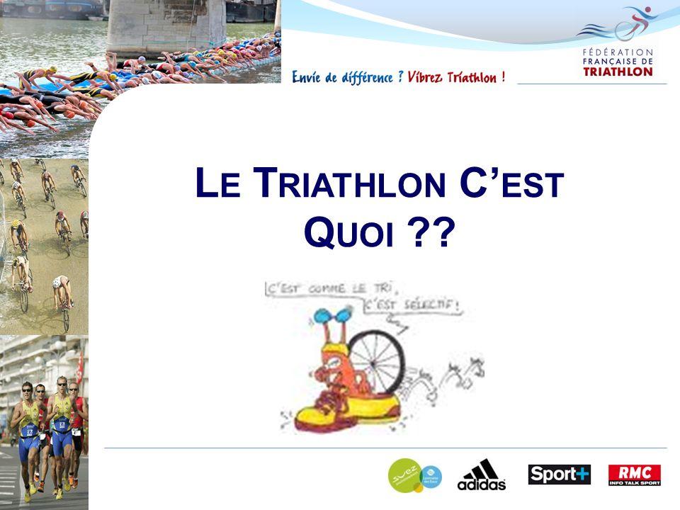 Le Triathlon C'est Quoi