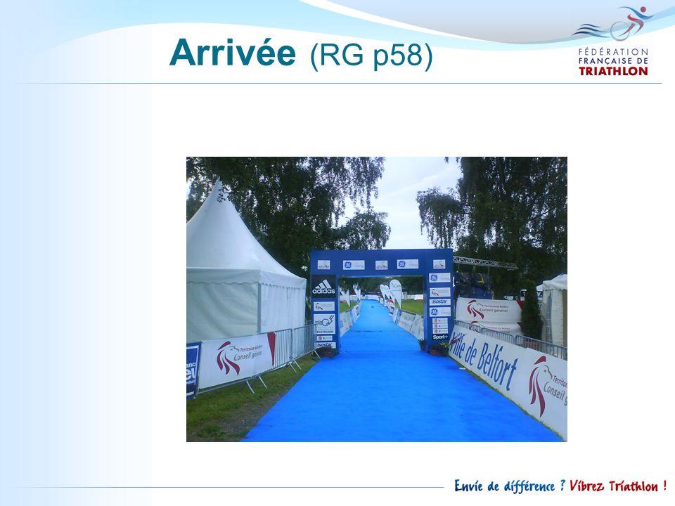 Arrivée (RG p58)