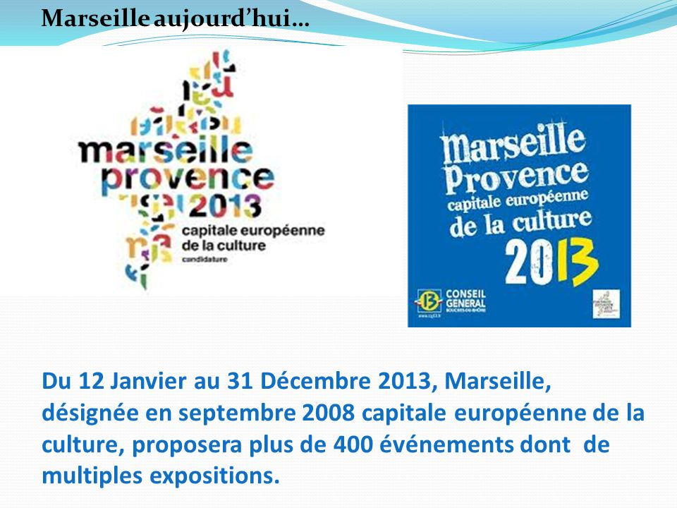 Marseille aujourd'hui…