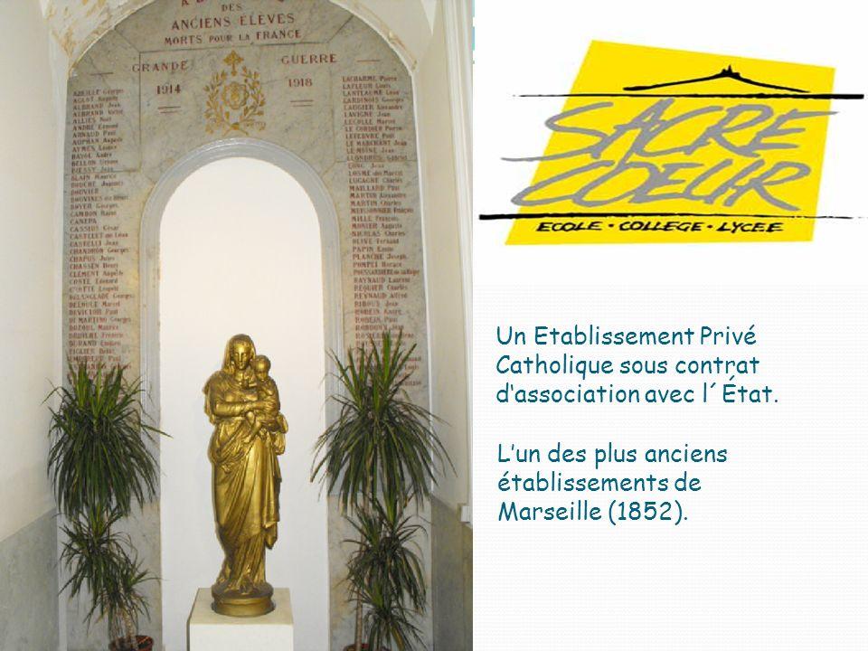 Un Etablissement Privé Catholique sous contrat d'association avec l´État.
