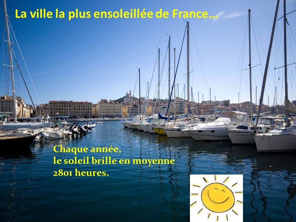 La ville la plus ensoleillée de France…