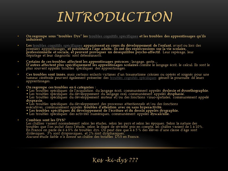 introduction Kes –ki-dys