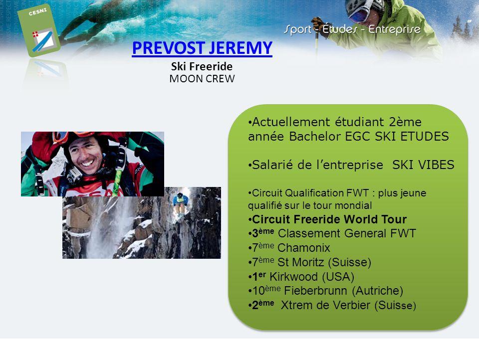 PREVOST JEREMY Ski Freeride MOON CREW