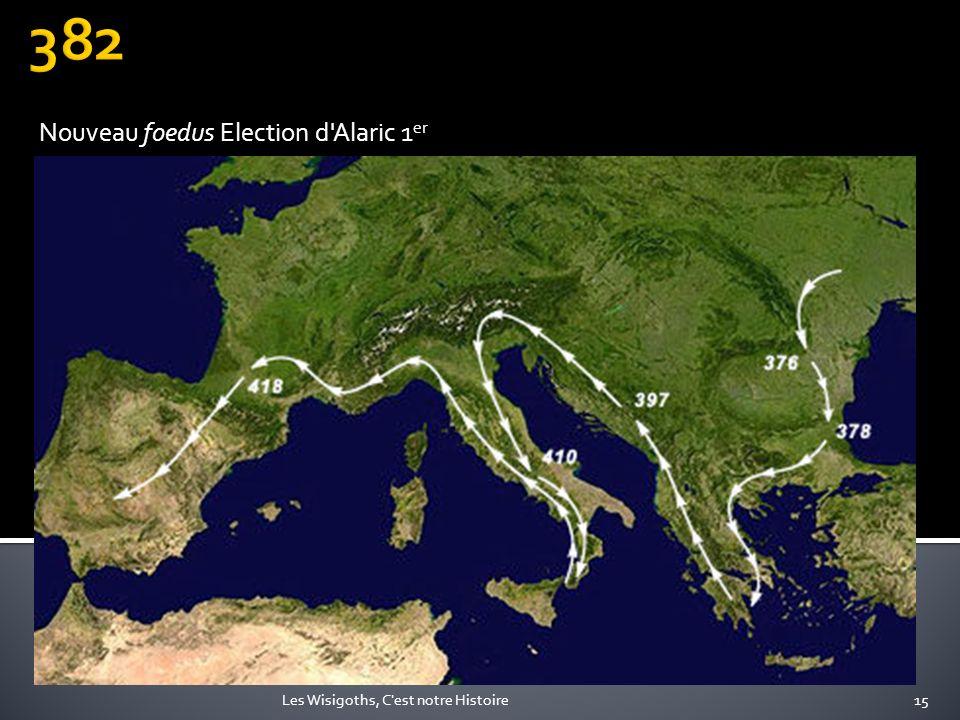 Nouveau foedus Election d Alaric 1er
