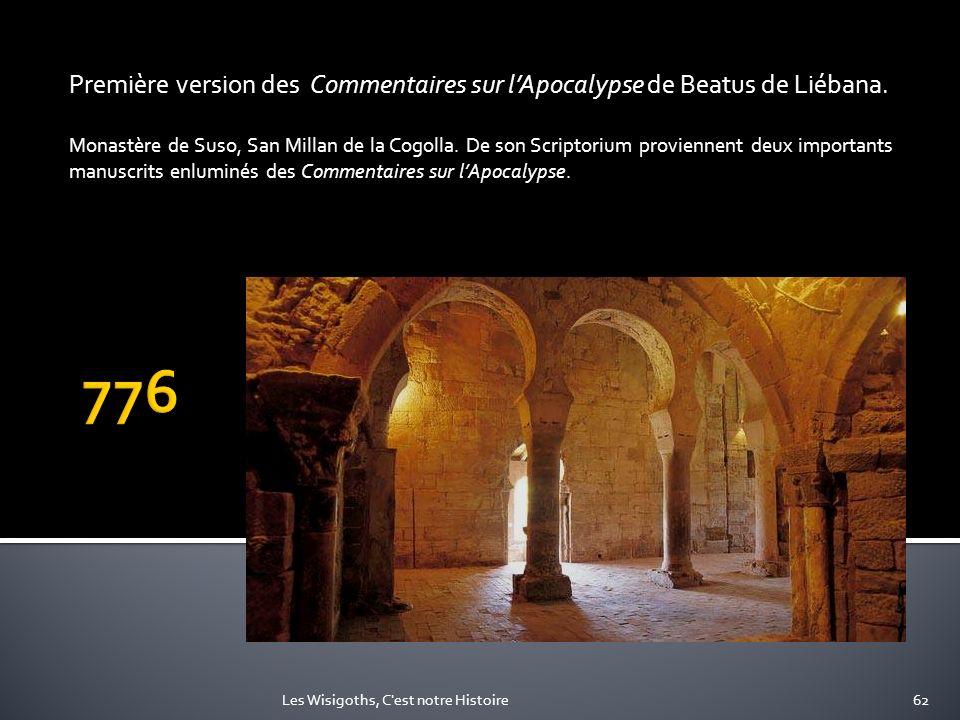 Première version des Commentaires sur l'Apocalypse de Beatus de Liébana.