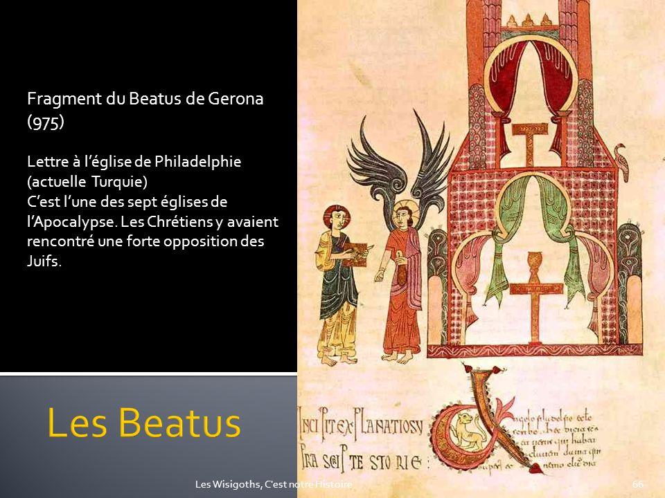 Les Beatus Fragment du Beatus de Gerona (975)