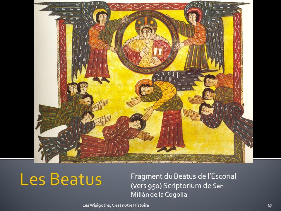 Les Beatus Fragment du Beatus de l'Escorial