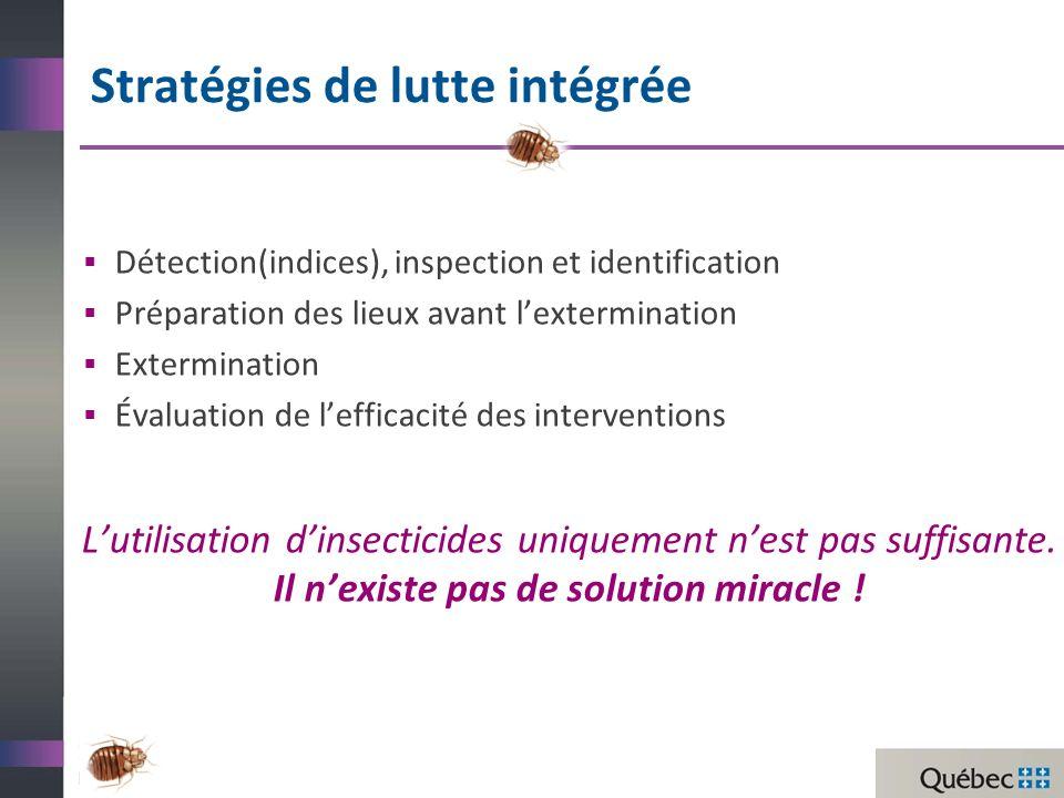 Stratégies de lutte intégrée