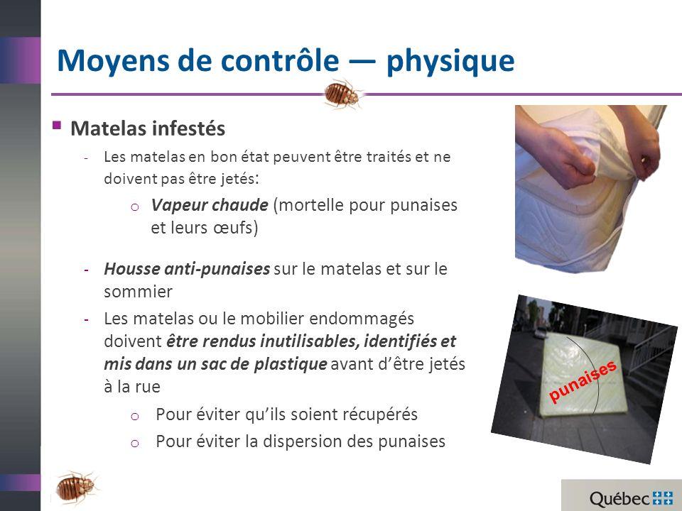 Moyens de contrôle — physique