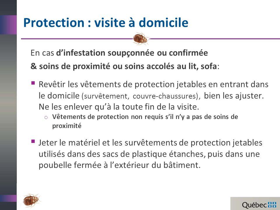 Protection : visite à domicile