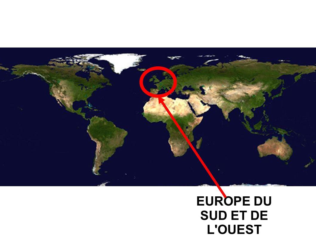 EUROPE DU SUD ET DE L OUEST