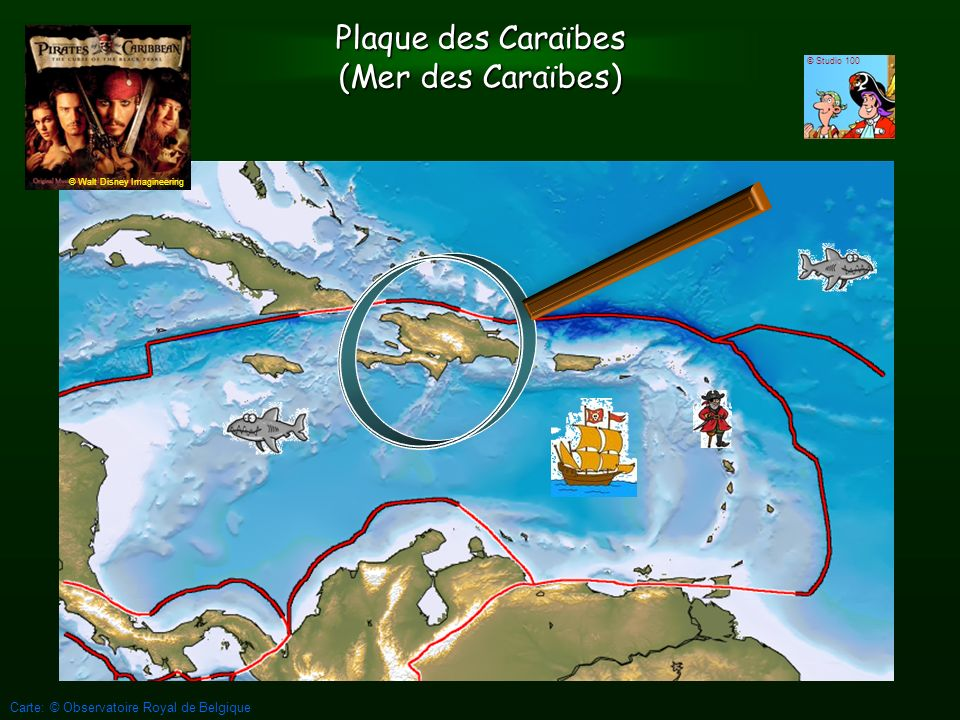 Plaque des Caraïbes (Mer des Caraïbes)