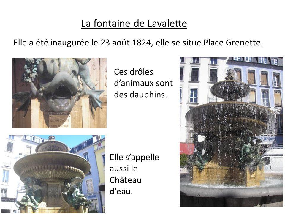 La fontaine de Lavalette