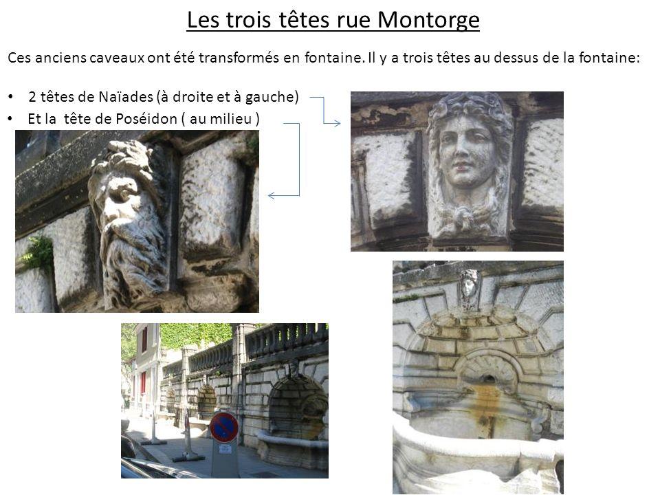 Les trois têtes rue Montorge