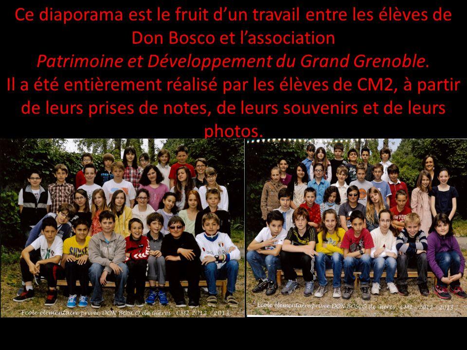 Patrimoine et Développement du Grand Grenoble.