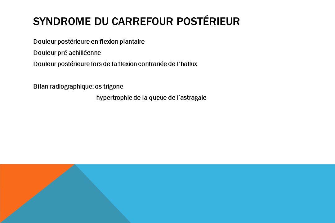 Syndrome du carrefour postérieur