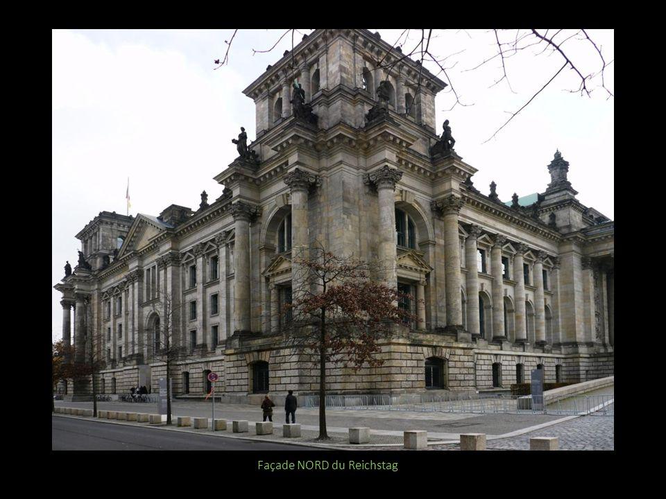 Façade NORD du Reichstag