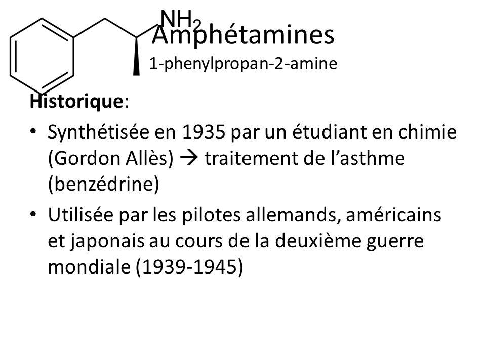 Amphétamines 1-phenylpropan-2-amine