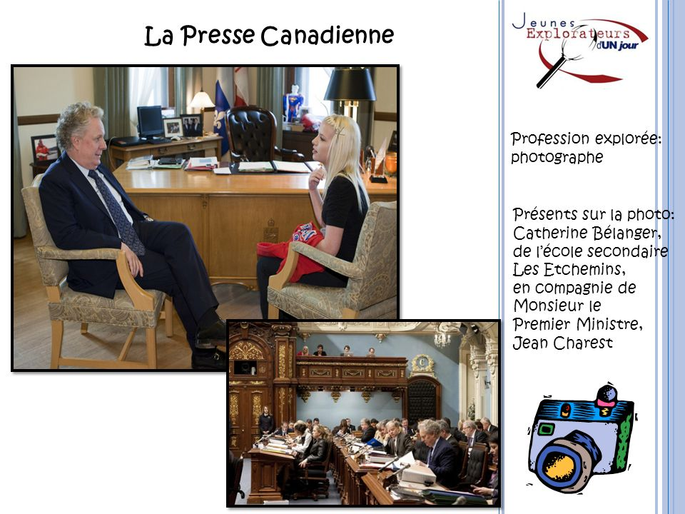 La Presse Canadienne Profession explorée: photographe