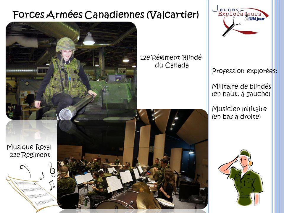 Forces Armées Canadiennes (Valcartier)