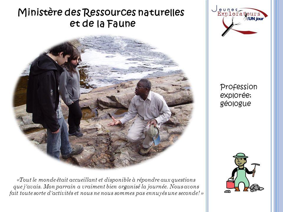 Ministère des Ressources naturelles et de la Faune