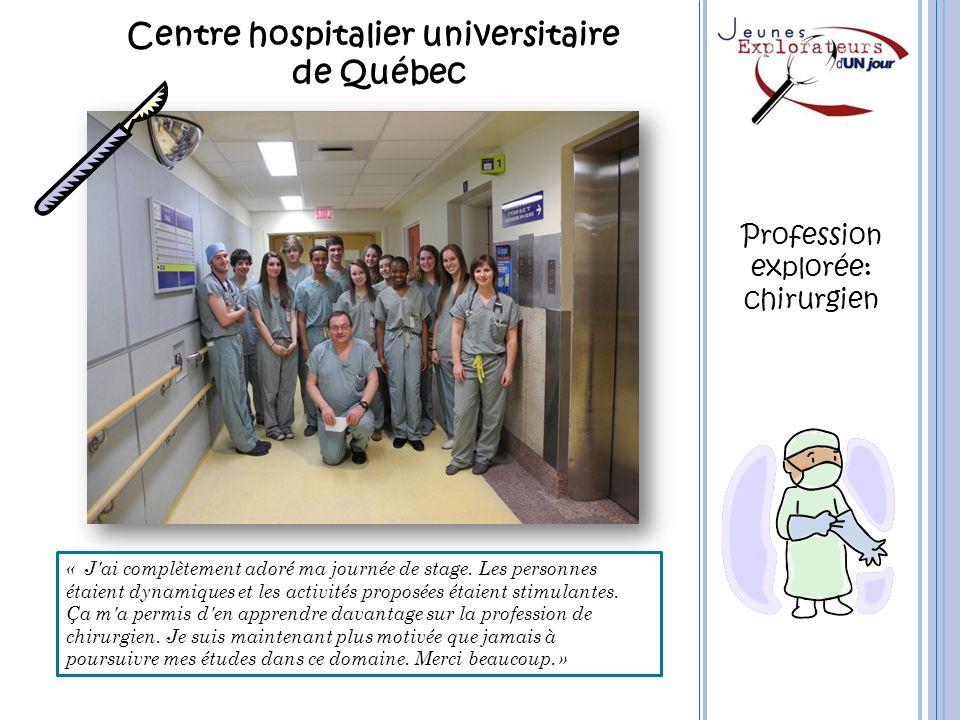 Centre hospitalier universitaire de Québec