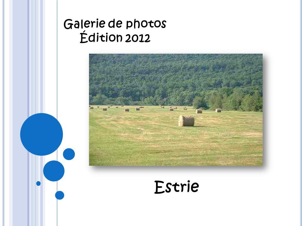 Galerie de photos Édition 2012 Estrie
