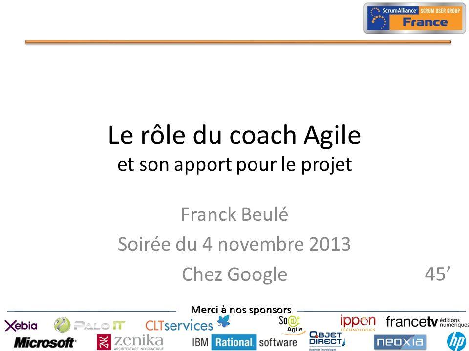 Le rôle du coach Agile et son apport pour le projet