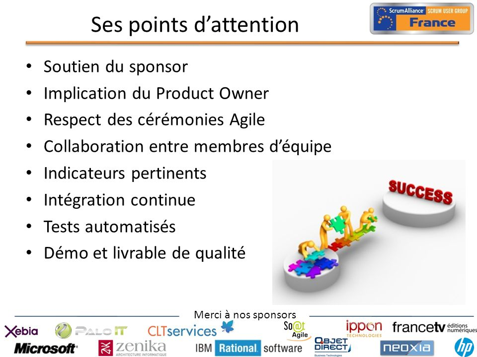 Ses points d'attention