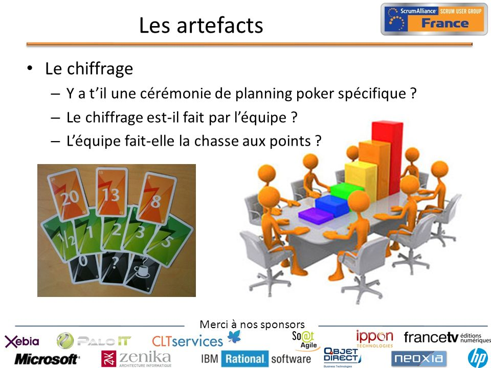Les artefacts Le chiffrage