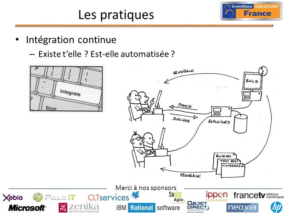 Les pratiques Intégration continue