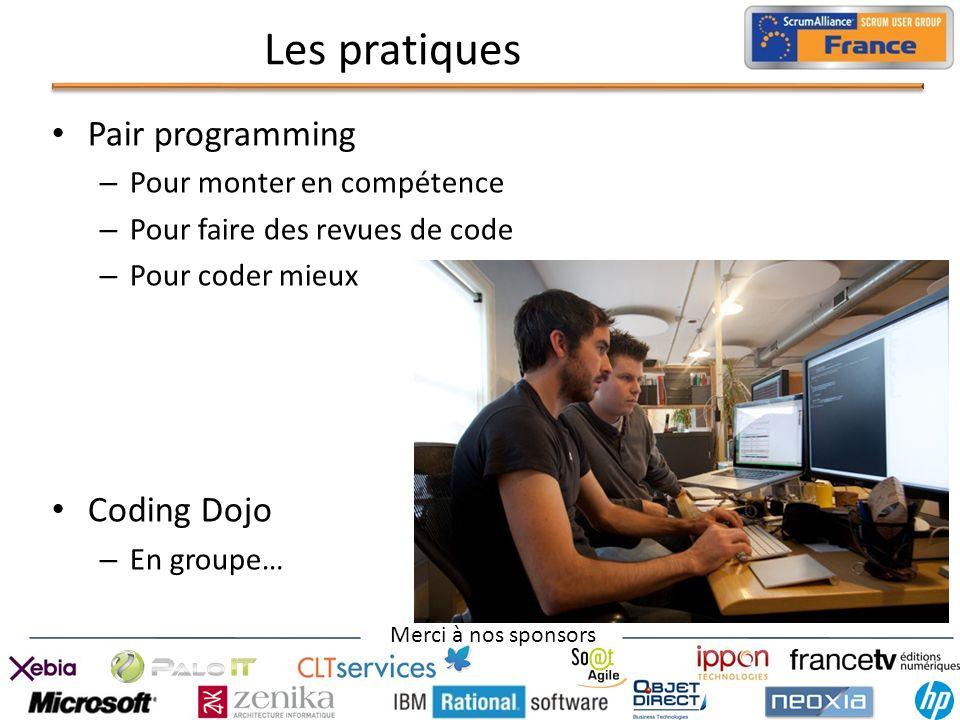 Les pratiques Pair programming Coding Dojo Pour monter en compétence