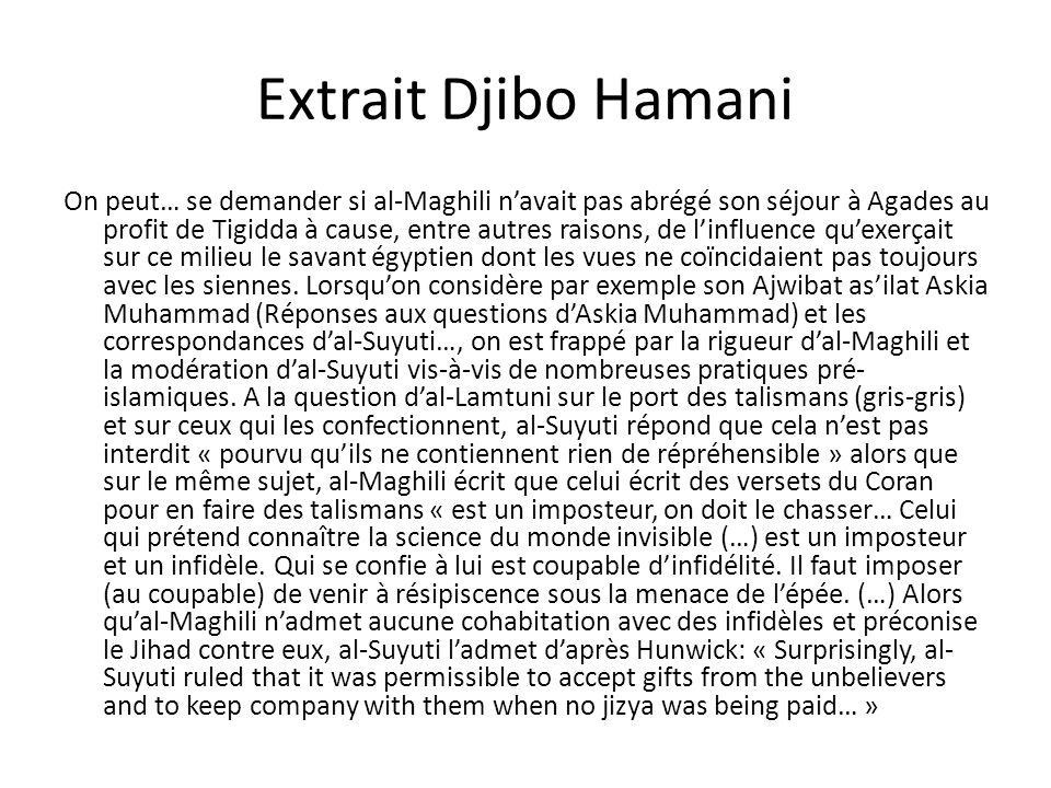 Extrait Djibo Hamani