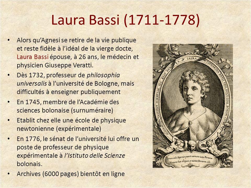 Laura Bassi (1711-1778)