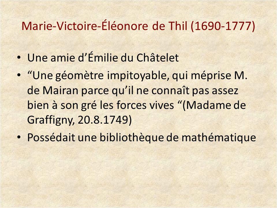 Marie-Victoire-Éléonore de Thil (1690-1777)