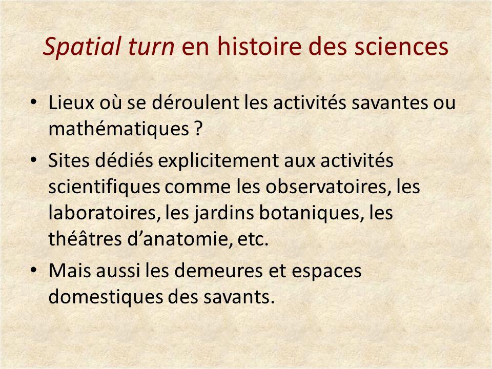 Spatial turn en histoire des sciences