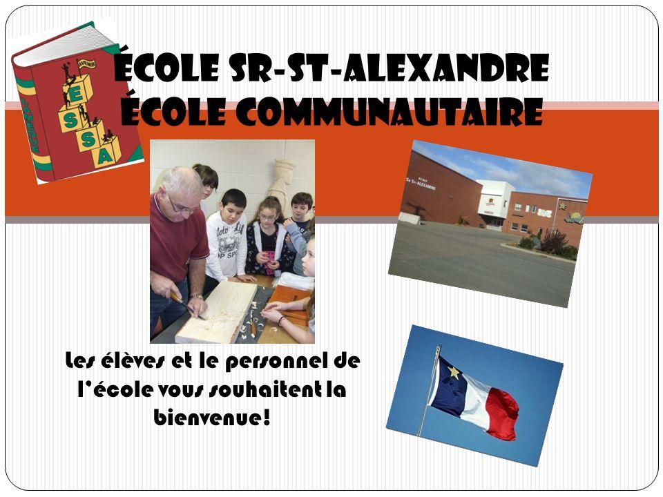 École Sr-St-Alexandre École communautaire